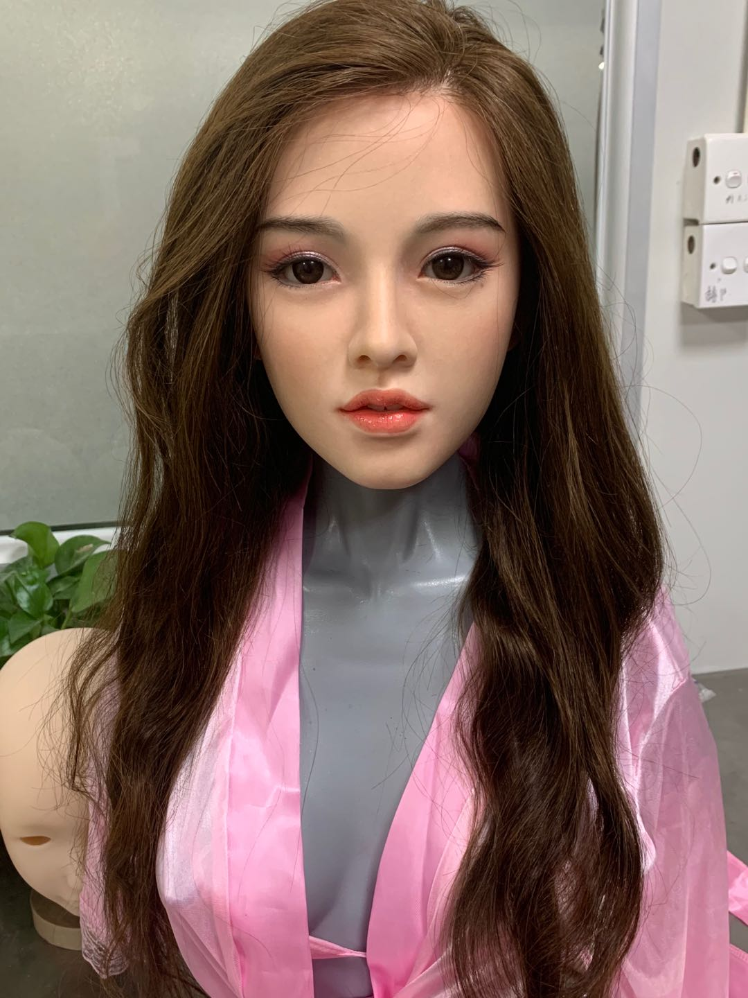 Starpery 151cm Asian Face Rong slim petite full silicone sex doll